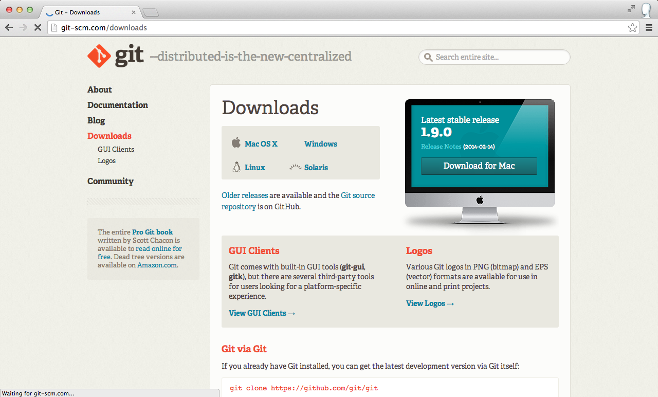 download_git